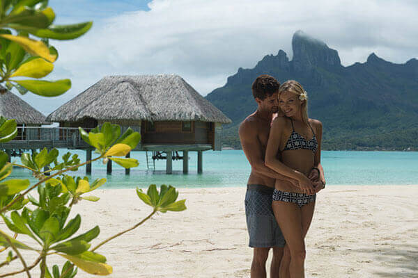 Honeymoon at Tahiti