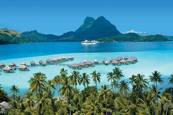 The Paul Gauguin in Bora Bora