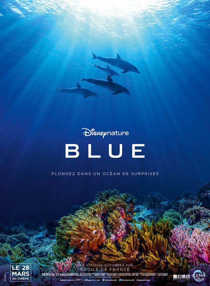 Affiche Disney Nature Blue