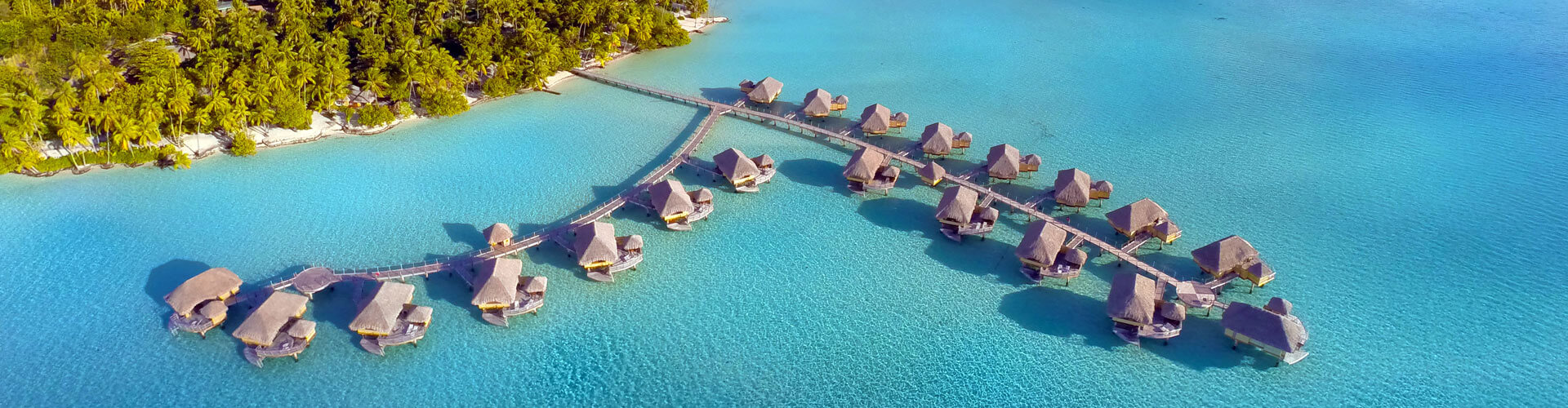 Aerial view of Le Taha'a Island Resort & Spa