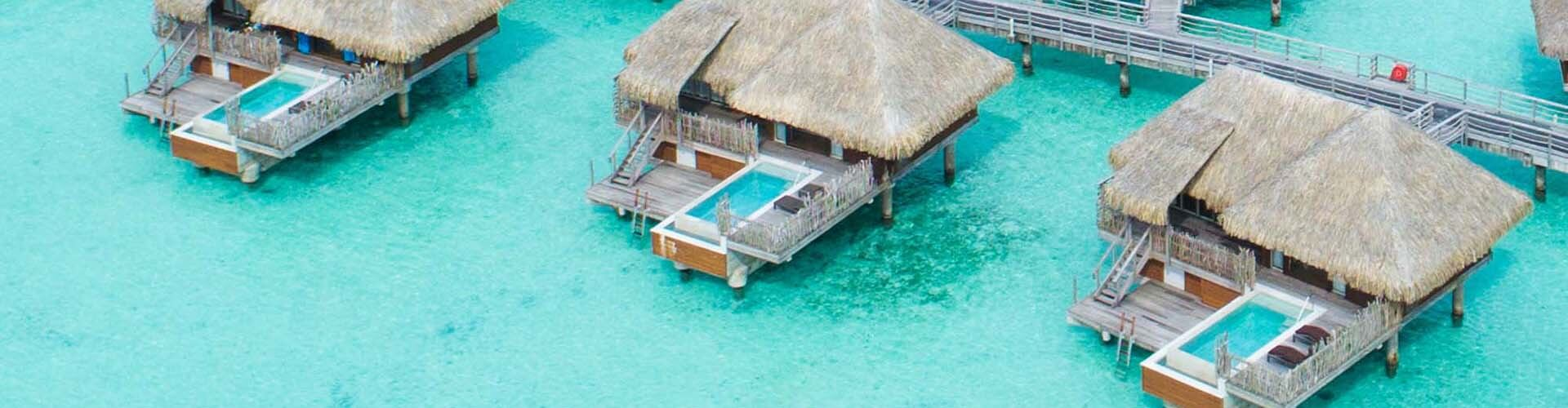 Overwater Pool Villas at the InterContinental Bora Bora Resort & Thalasso Spa
