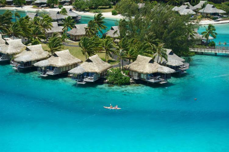 Intercontinental Moorea Aerial View