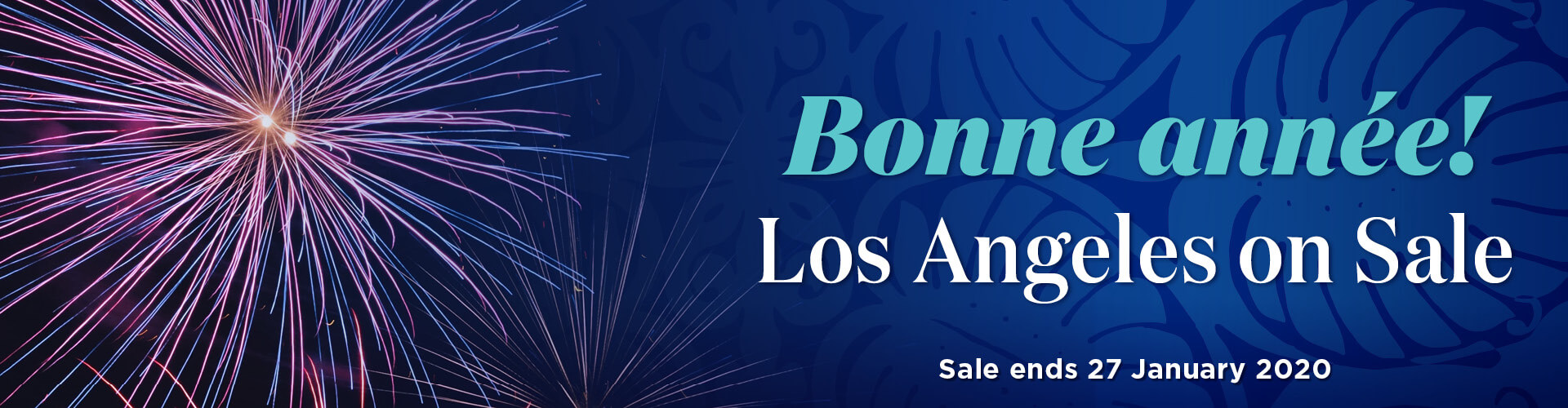 New Year Sale - Los Angeles
