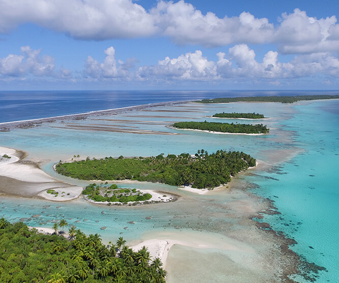 Islands of Tahiti by Adrien Freville