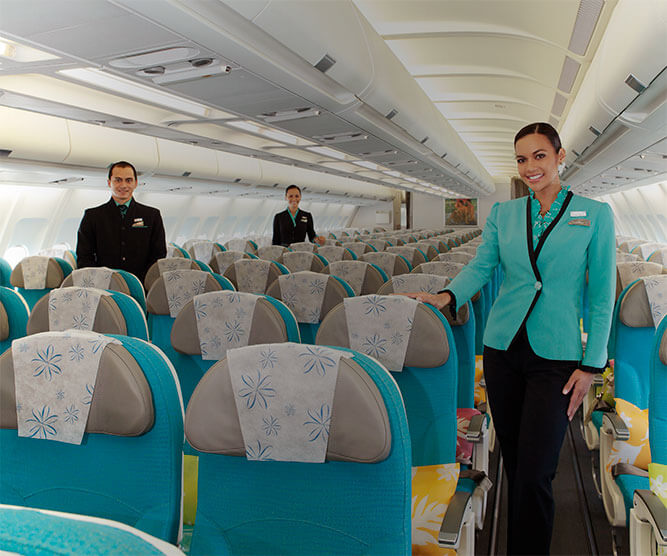Air Tahiti Nui Cabin and Crew