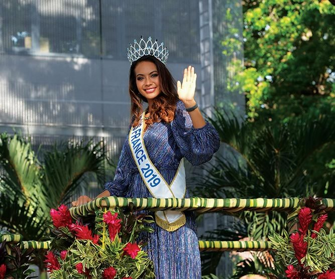 vaimalama chaves miss france tahiti parade