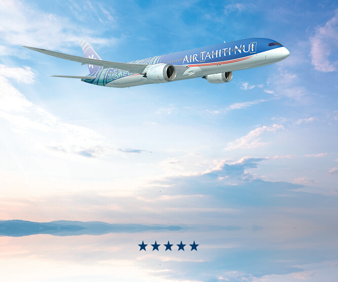 Visuel Five Star major airline