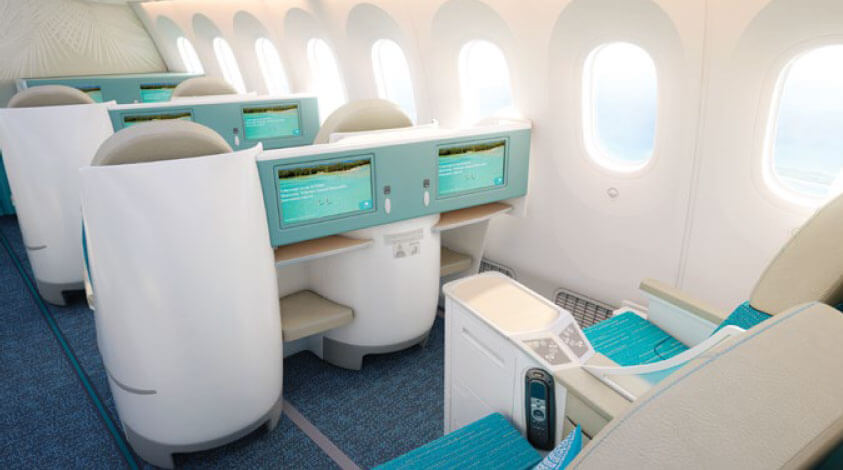 Poerava - Business Class Inset Image