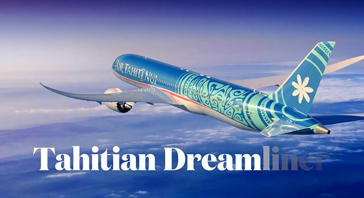 The Tahitian Dreamliner, the most immersive aircraft!