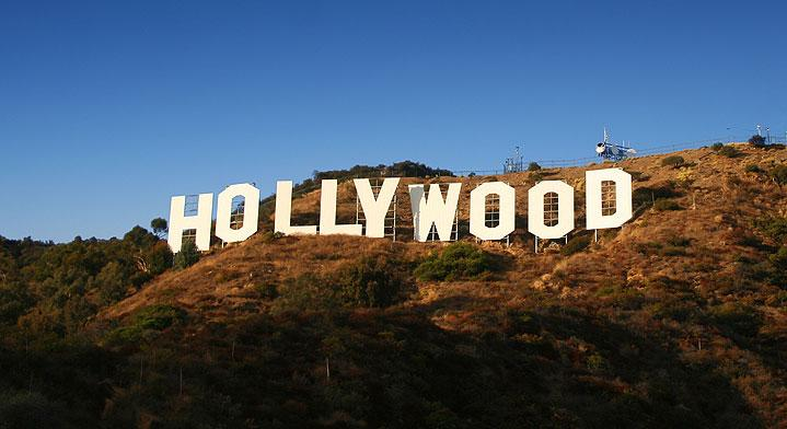 A view of Hollywood in Los Angeles