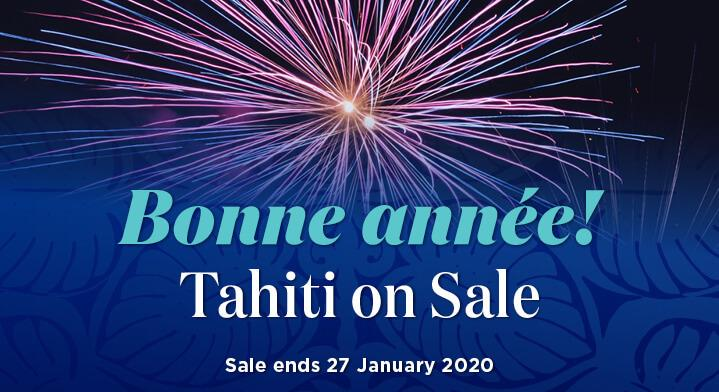 New Year Sale - Melbourne to Tahiti