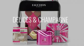 Illustration: Delicias e Champagne