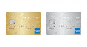 Illustration: Carte Air Tahiti Nui American Express