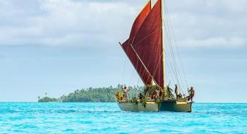 pirogues doubles polynesiennes voile