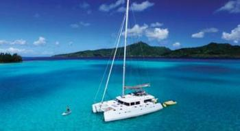 private catamaran