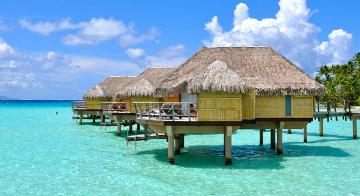 Overwater Bungalow at Le Taha'a Island Resort & Spa