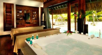 Spa at Intercontinental Bora Bora Resort & Thalasso Spa