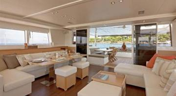 Dream Yacht Charter Dining Area