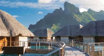 family travel four seasons bora bora