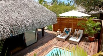 Hilton Moorea 5-Night Honeymoon Package with Airfare