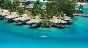 Intercontinental Moorea Arial View