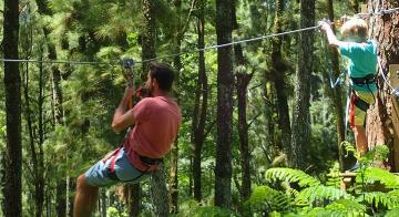 Family Ziplining Adventure on Moorea