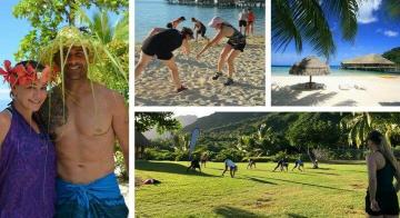 Join us training in paradise