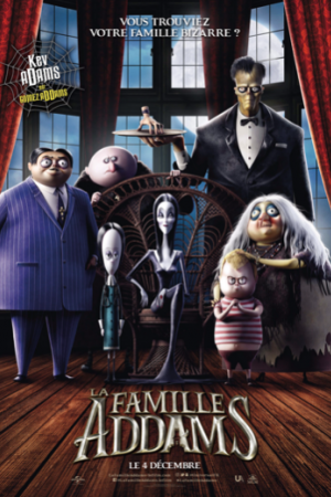 addams family 2019 inflight movie