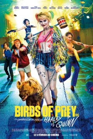 birds prey inflight movie