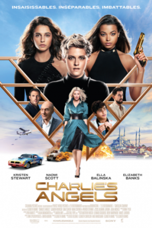 charlies angels 2019 inflight movie