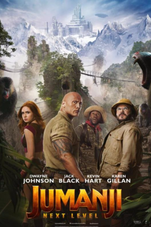 jumanji next level inflight movie