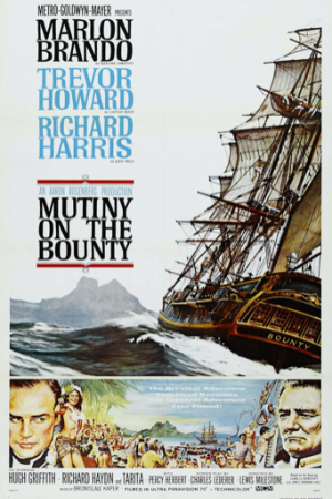 mutiny on bounty inflight movie