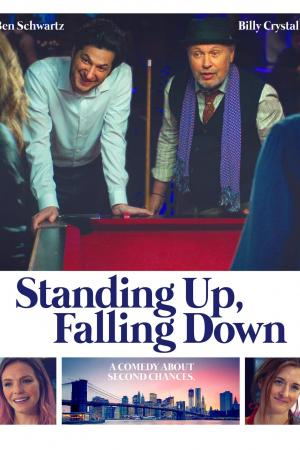 standing up falling down inflight movie