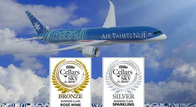 air tahiti nui logo cellars in the sky