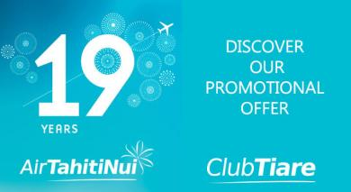 Air Tahiti Nui 19 years
