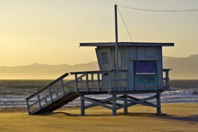 Photo d'une plage californienne