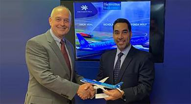 Nick Panza, ATN, Vice President of the Americas and Rafael Aponte, Aviareps