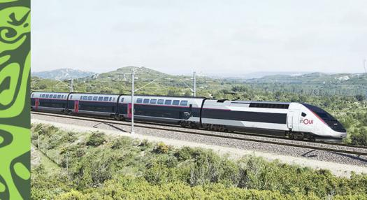 TGV train in France