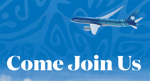 Air Tahiti Nui - Come Join Us Brochure - 2019-2020
