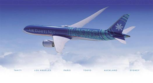Air Tahiti Nui - Dreamliner Fact Flyer PDF Preview