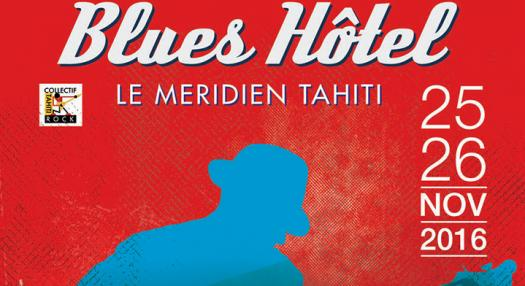 advertizing evènement Blues hotel