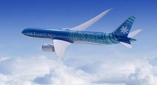 Our new Boeing 787-9, Tahitian Dreamliner | Air Taihiti Nui