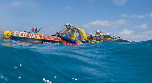 Photo of the hawaiki nui vaa race