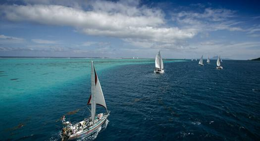 Photo of the Tahiti Pearl Regatta