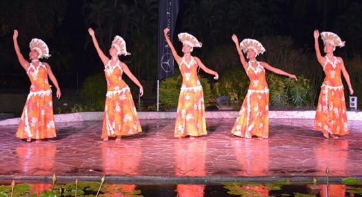 picture of the tahitian event ori tahiti nui competition