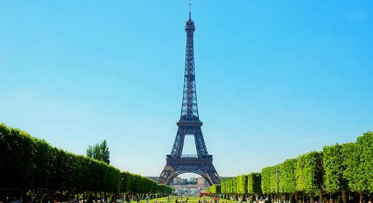 view of Tour Eiffel at Paris