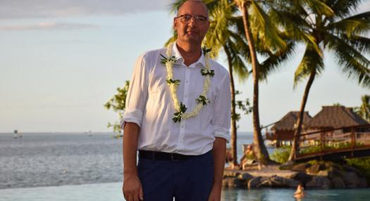 Portrait de Christopher Korenke, directeur commercial à Air Tahiti Nui