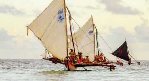 pirogue double polynesienne