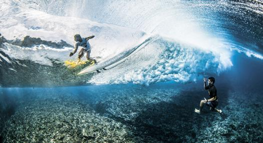 reva ben thouard surface surf teahupoo