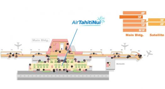 Map of Narita International airport